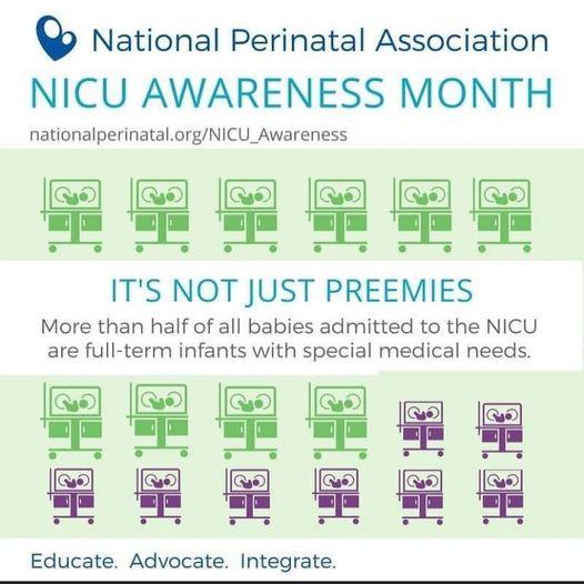 NICU Awareness Month  – Full Term Babies
