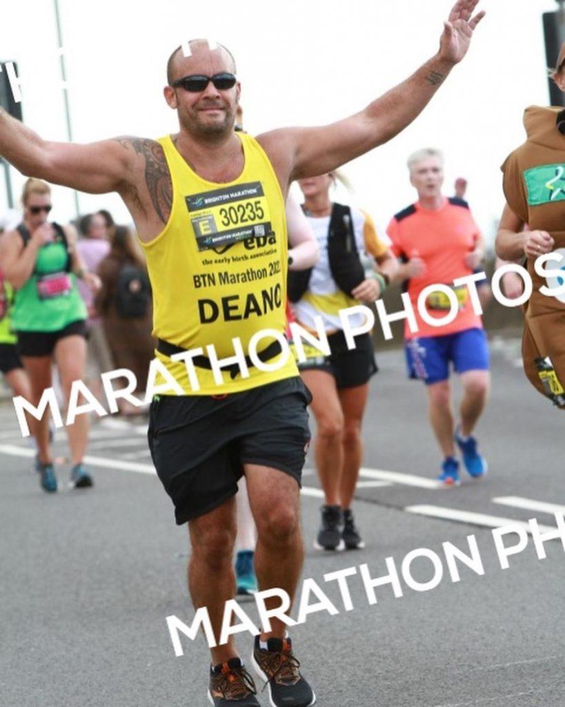 Thank you to Dean Tonks – Brighton Marathon Run!