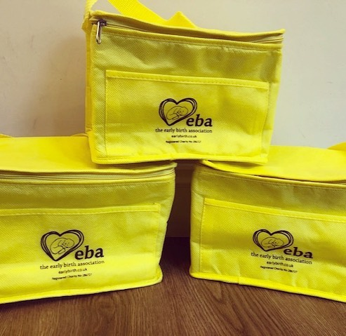 EBA Cool Bags for milk transportation