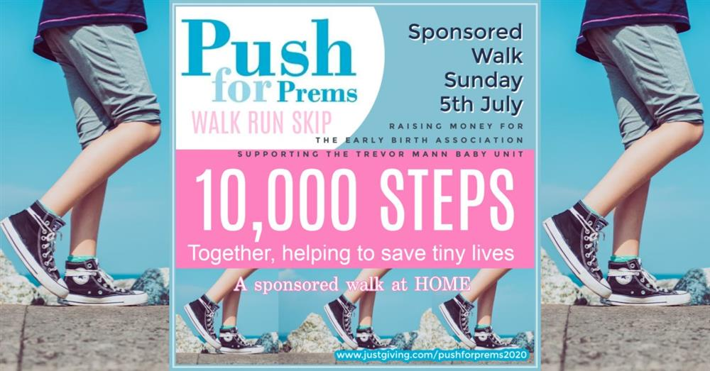 One week to go until Push for Prems TMBU Fundraiser