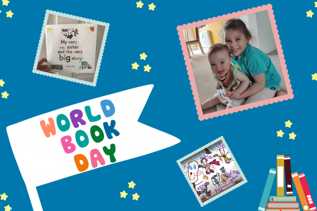 My Very Little Sister and The Very Big Story – VCreate Launch Audio Book on World Book day!