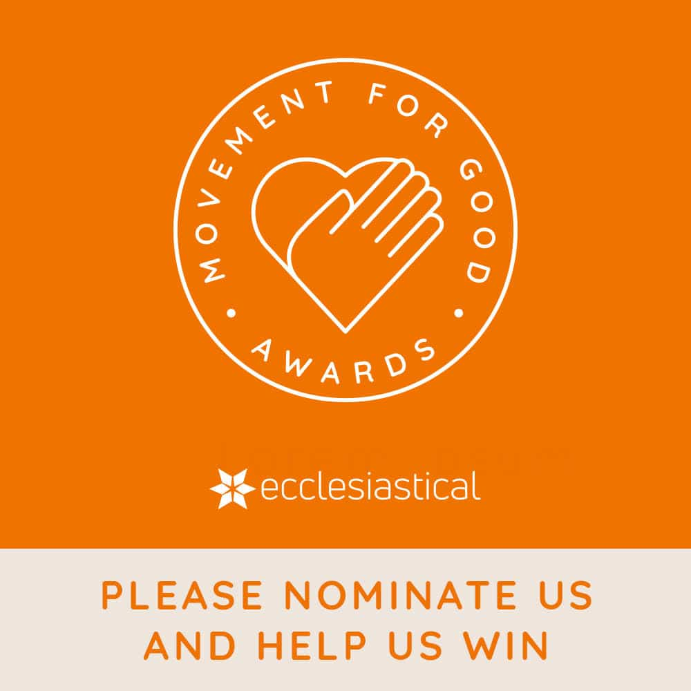 Movement for Good awards – we need your vote!