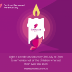 National Bereaved Parents Day – Saturday 3rd July 2021